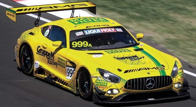 Scalextric C4075 - MERCEDES AMG GT3 BATHURST 12HRS GRUPPE M RACING