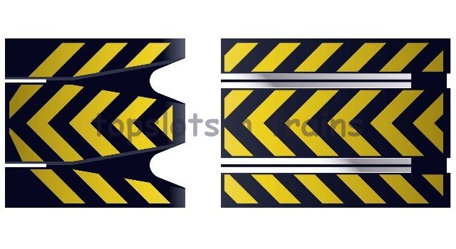 Scalextric C8211 - TRACK STRAIGHT FLYING LEAP RAMPS