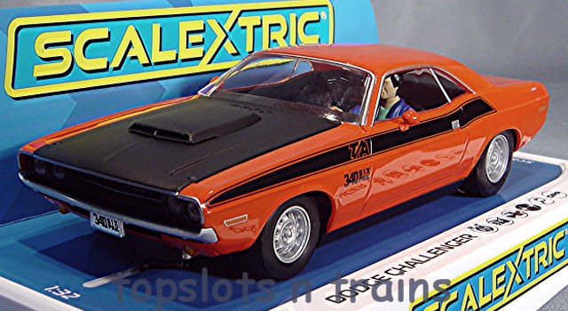 Scalextric C4065 - DODGE CHALLENGER ROAD RACING USA MUSCLE CAR