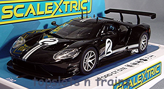 Scalextric C4063 - FORD GT GTE BLACK NO2 HERITAGE EDITION