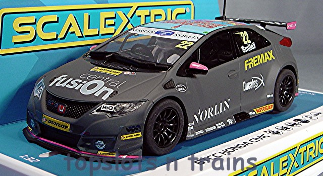 Scalextric C4015 - HONDA CIVIC TYPE R NGTC BTCC 2018 CHRIS SMILEY