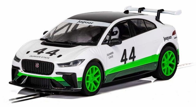 Scalextric C4064 - JAGUAR I-PACE GROUP 44 HERITAGE LIVERY