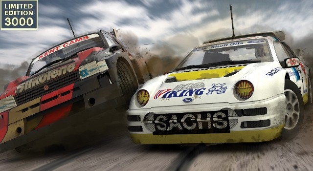 Scalextric C3267A LTD - RALLY-CROSS CHAMPIONS FORD RS200 Vs MG METRO 6R4