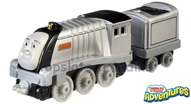 Thomas Adventures DXR69 - SPENCER - THE ARROGANT SILVER STEAM ENGINE