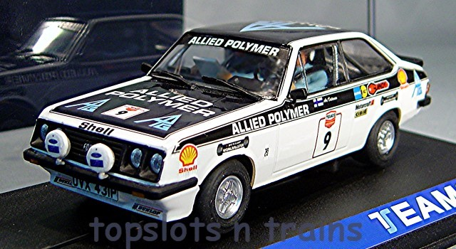 Teamslot TS-12703 - FORD ESCORT RS2000 MK2 BRITAIN 1973 ARI VATANEN