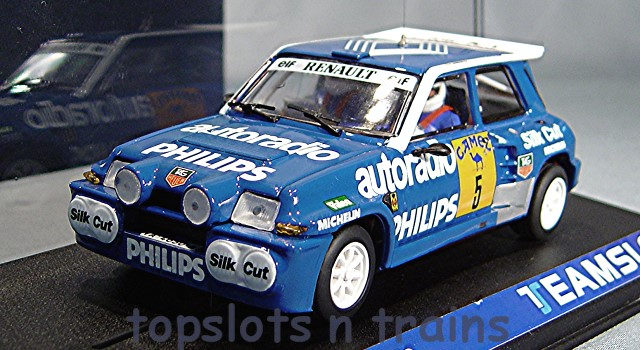Teamslot TS-12108 - RENAULT 5 MAXI-TURBO RALLY 1988 BARRERAS