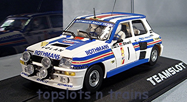 Teamslot TS-11808 - RENAULT 5 TURBO ROTHMANS RALLY TEAM ERC 1983