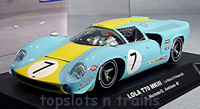 Thunder Slot CA00104-SW - LOLA T70 MKIII COUPE LE MANS 24HRS 1968 NORINDER