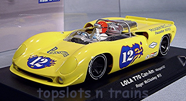 Thunder Slot CA00204-SW - LOLA T70 CAN AM 1967 MOSPORT ROGER McCLUSKEY
