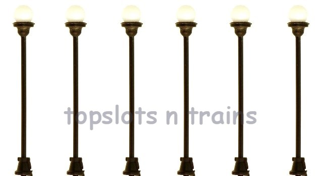 TrainSave TSV215 OO Scale - 6v PARK OR STATION GLOBE LIGHTS X 6