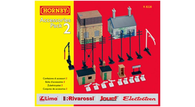 Hornby Track R8228 - TRAKMAT ACCESSORIES PACK NO2