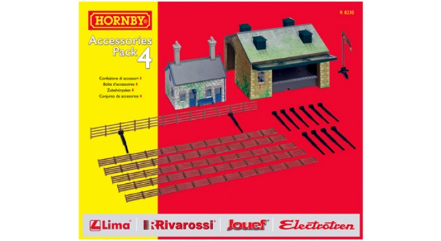 Hornby Track R8230 - TRAKMAT ACCESSORIES PACK NO4
