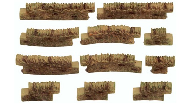 Hornby R8541 - COTSWOLD STONE WALL PACK 3