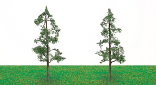 Hornby R8911 - PINE TREES 100MM X 2