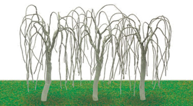 Hornby R8942 - WEEPING WILLOW TREE ARMATURES 100MM X 3
