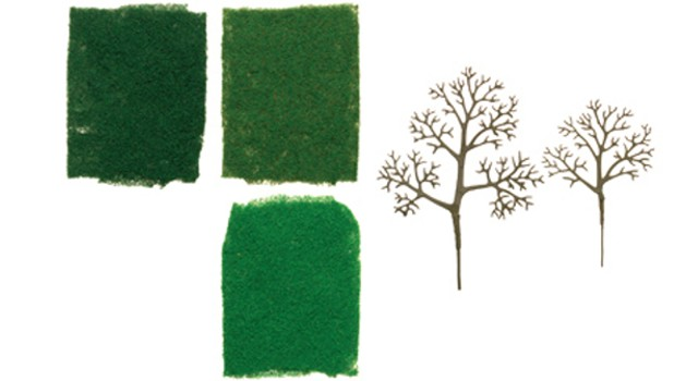 Hornby R8943 - DECIDUOUS TREE STARTER KIT X 16