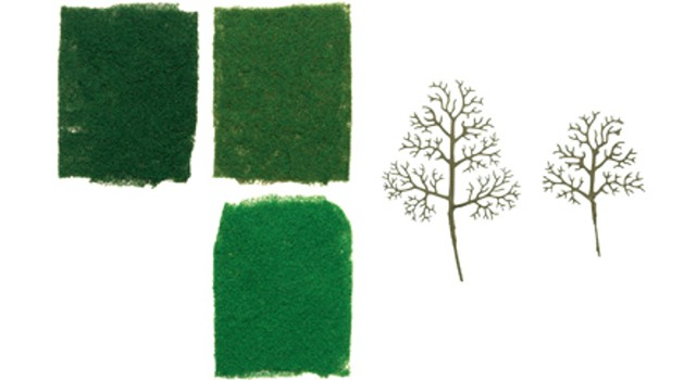 Hornby R8944 - SYCAMORE TREE STARTER KIT X 16